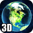 Earth 3D icon2x5